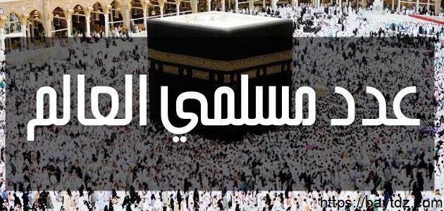 كم عدد مسلمي العالم