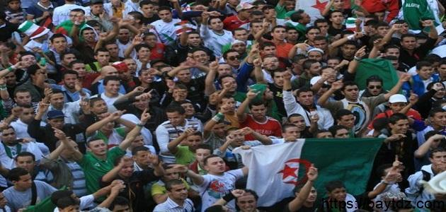 كم يبلغ عدد سكان الجزائر