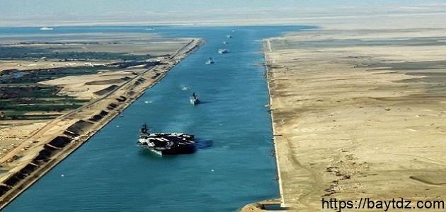 كم يبلغ عمق قناة السويس
