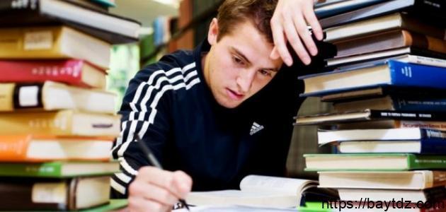 كيف أتخلص من قلق الامتحانات
