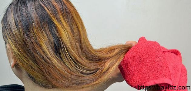 كيف أتخلص من نفشة الشعر