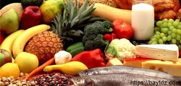 كيف أحافظ على صحتي بالغذاء