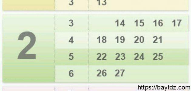كيف أحسب عدد أسابيع الحمل
