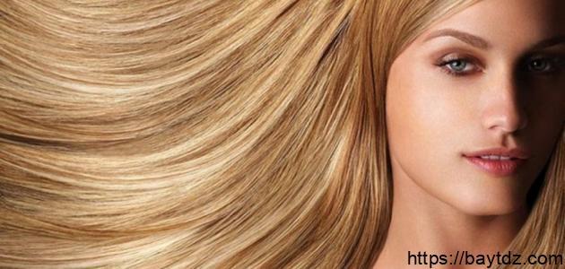 كيف أحصل على لون شعر أشقر ذهبي