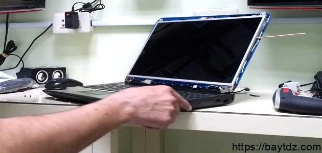 كيف أصلح شاشة الكمبيوتر
