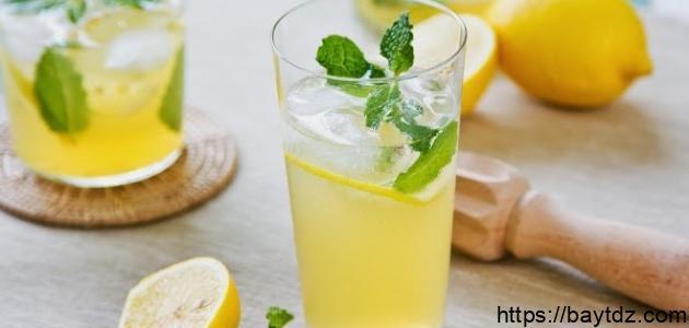 كيف أعمل عصير ليمون