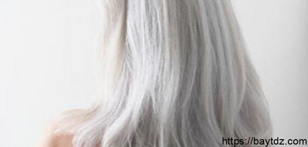 كيف أقضي على الشعر الأبيض