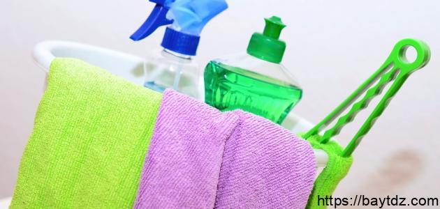 كيف أنظف البيت من الغبار