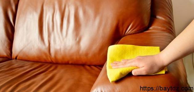 كيف أنظف الجلد