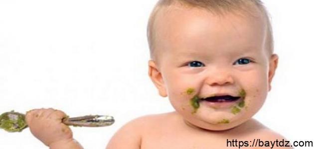 كيف ابدأ باطعام طفلي