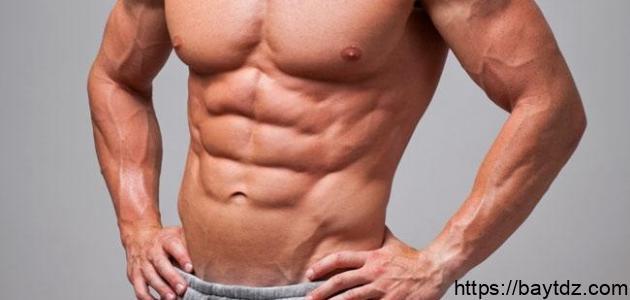 كيف تبرز عضلات البطن