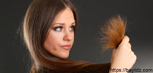 كيف تتخلص من تقصف اطراف الشعر