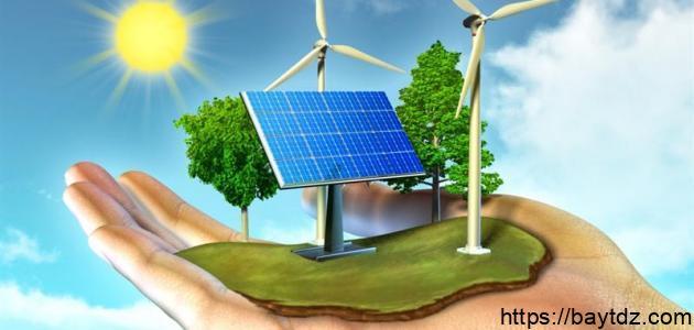 كيف تتم المحافظة على مصادر الطاقة