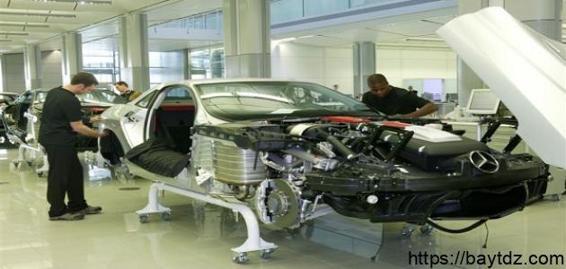 كيف تصنع السيارة