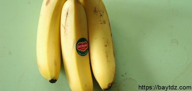 كيف نجفف قشر الموز