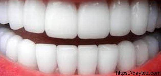 كيف نحافظ على بياض الأسنان