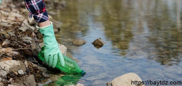 كيف نعالج تلوث المياه