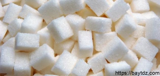 كيف يصنع السكر
