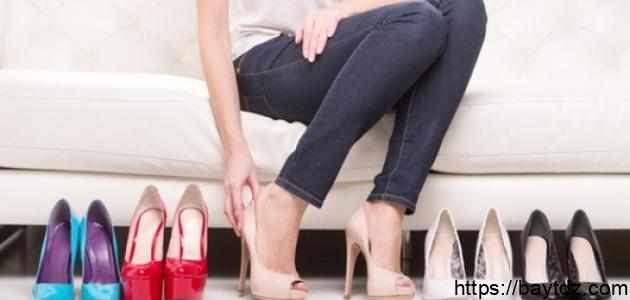 كيف يمكن توسيع الحذاء الضيق