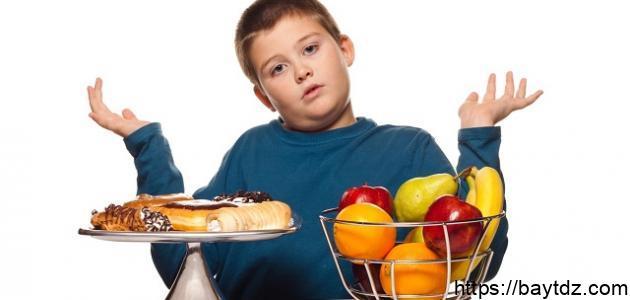كيفية إنقاص الوزن للأطفال