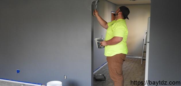 كيفية التخلص من رائحة طلاء الجدران