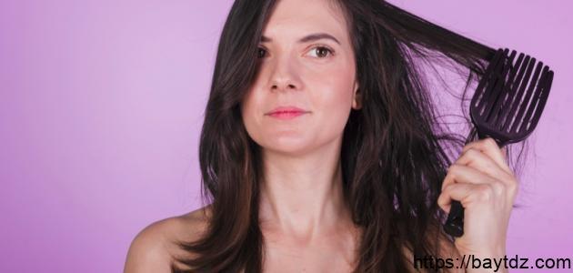 كيفية التخلص من نفشة الشعر