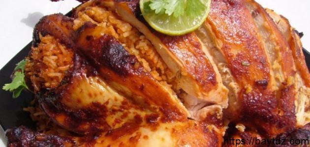 كيفية تحضير صينية الدجاج