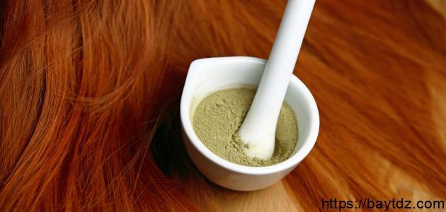 كيفية تغيير لون الشعر بمواد طبيعية