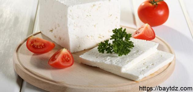 كيفية صناعة الجبن الأبيض
