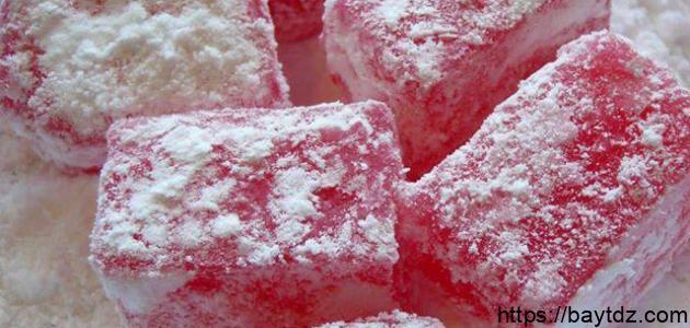 كيفية صنع حلوى الحلقوم