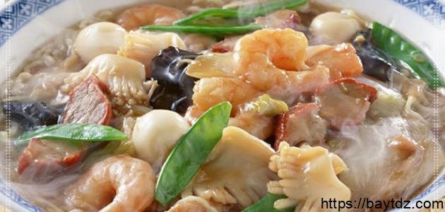 كيفية طبخ فواكه البحر