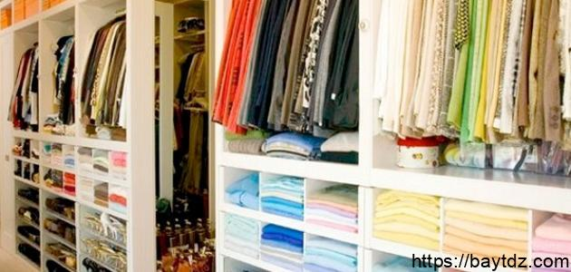 كيفية طي الملابس