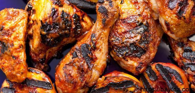 كيفية عمل الدجاج المشوي