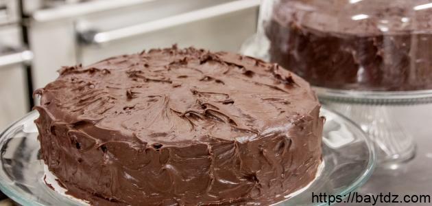 كيفية عمل شوكولاتة التورتة