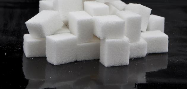 كيفية عمل مكعبات السكر