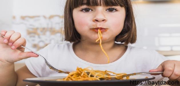 كيفية فتح شهية الأطفال