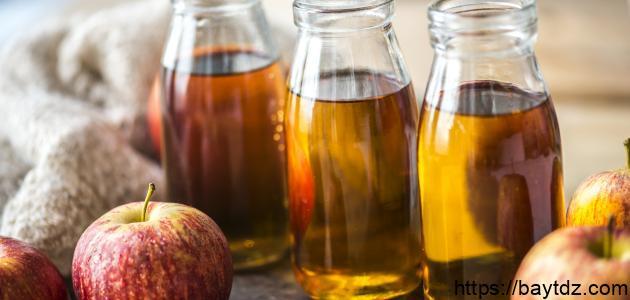 كيفية وضع خل التفاح على الشعر