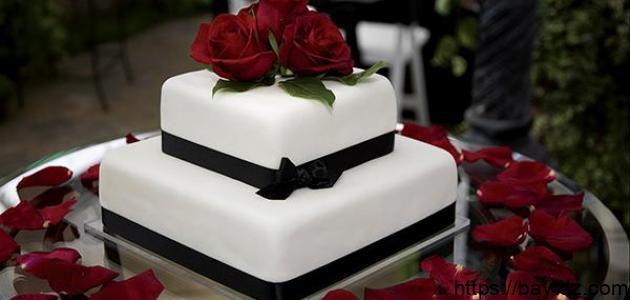 كيكات عيد الزواج