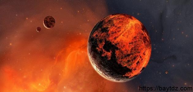 لماذا سمي كوكب المريخ بالكوكب الأحمر