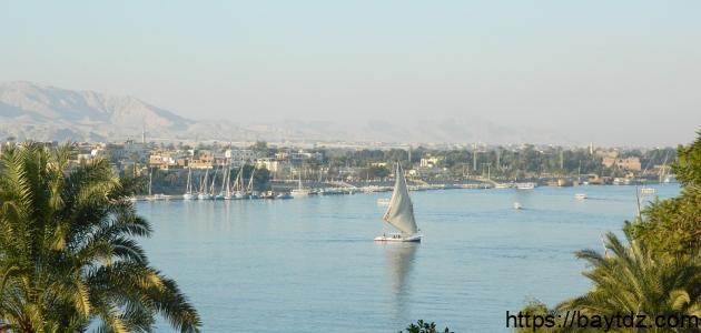 ما أهمية نهر النيل