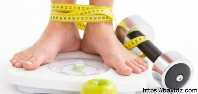 ما سبب ثبات الوزن