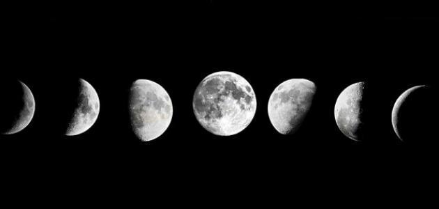 ما سبب حدوث أطوار القمر