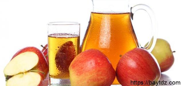 ما فائدة عصير التفاح