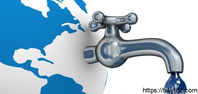 ما معنى ترشيد استهلاك المياه