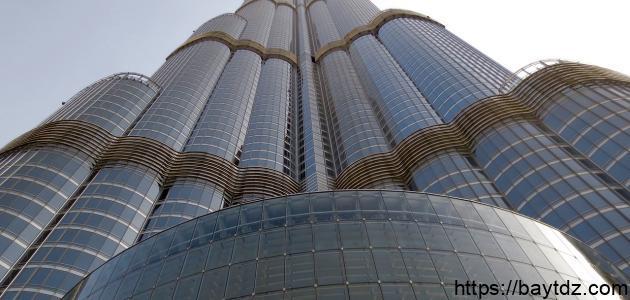 ما هو ارتفاع برج خليفة