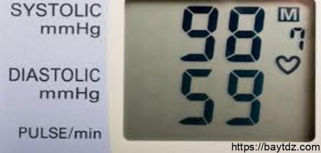 ما هو معدل الضغط المنخفض