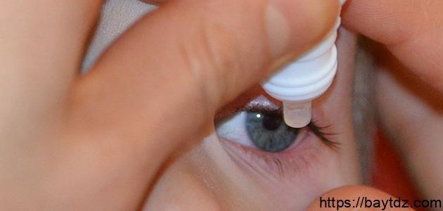 ما هي أضرار جفاف العين