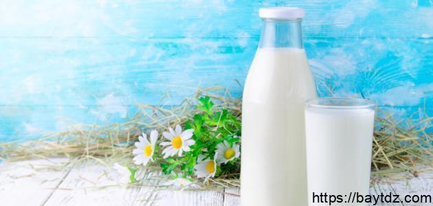 ما هي أنواع الحليب غير البقري