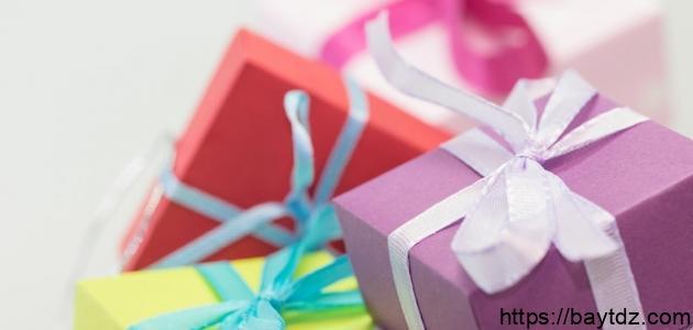 ما هي الهدايا التي تقدم للعروس
