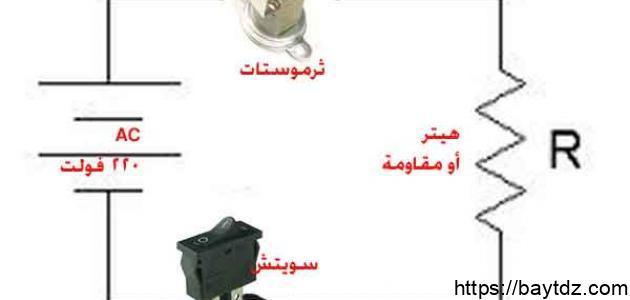 ما هي عناصر الدارة الكهربائية